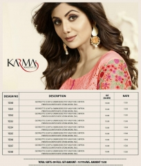 KARMA TRENDZ BY GEORGETTE EMBROIDERED SALWAR KAMEEZ WHOLESALE BEST RATE BY GOSIYA EXPORTS AT SURAT (23)