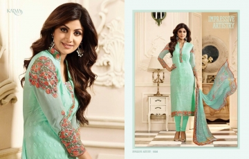 KARMA TRENDZ BY GEORGETTE EMBROIDERED SALWAR KAMEEZ WHOLESALE BEST RATE BY GOSIYA EXPORTS AT SURAT (25)