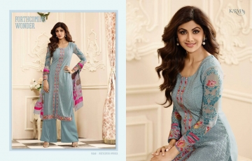 KARMA TRENDZ BY GEORGETTE EMBROIDERED SALWAR KAMEEZ WHOLESALE BEST RATE BY GOSIYA EXPORTS AT SURAT (29)