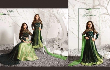 KARMA TRENDZ SERIES 1575 MOTHER AND SAUGHTER WHOLSALE PPRICE AT GOSIYA EXPORTS (9)