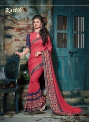 KARTIK SAREE LAKME PRINTED SAREE CATALOG IN WHOLESALE BEST RATE BY GOSIYA EXPORTS FROM SURAT (1)