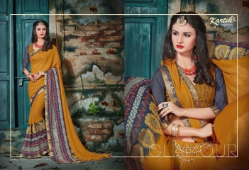 KARTIK SAREE LAKME PRINTED SAREE CATALOG IN WHOLESALE BEST RATE BY GOSIYA EXPORTS FROM SURAT (10)