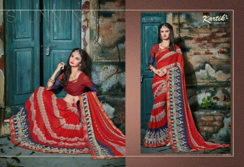 KARTIK SAREE LAKME PRINTED SAREE CATALOG IN WHOLESALE BEST RATE BY GOSIYA EXPORTS FROM SURAT (11)