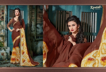 KARTIK SAREE LAKME PRINTED SAREE CATALOG IN WHOLESALE BEST RATE BY GOSIYA EXPORTS FROM SURAT (4)