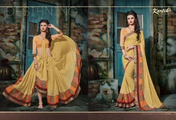 KARTIK SAREE LAKME PRINTED SAREE CATALOG IN WHOLESALE BEST RATE BY GOSIYA EXPORTS FROM SURAT (6)