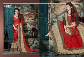 KARTIK SAREE LAKME PRINTED SAREE CATALOG IN WHOLESALE BEST RATE BY GOSIYA EXPORTS FROM SURAT (7)