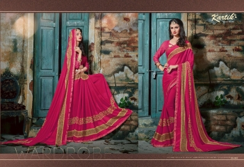 KARTIK SAREE LAKME PRINTED SAREE CATALOG IN WHOLESALE BEST RATE BY GOSIYA EXPORTS FROM SURAT (9)