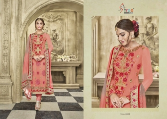 KARVA FESTIVAL BY SHREE FAB DESIGNER WITH EMBROIDERY WORK GEORGETTE SUITS ARE AVAILABLE AT WHOLESALE BE (219)