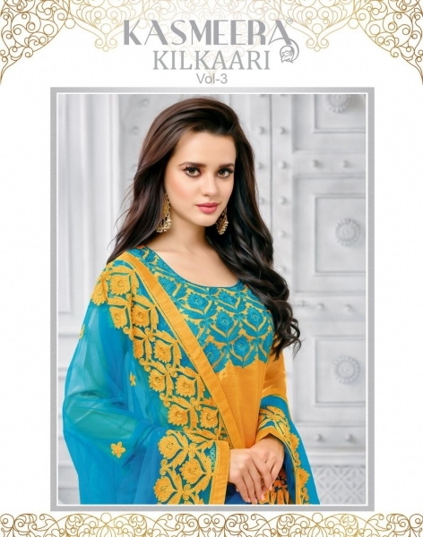KASHMEERA KILKARI VOL 3 COTTON FABRIC SALWAR SUITS WHOLESALE DEALER BEST RATE BY GOSIYA EXPORTS SURAT (1)