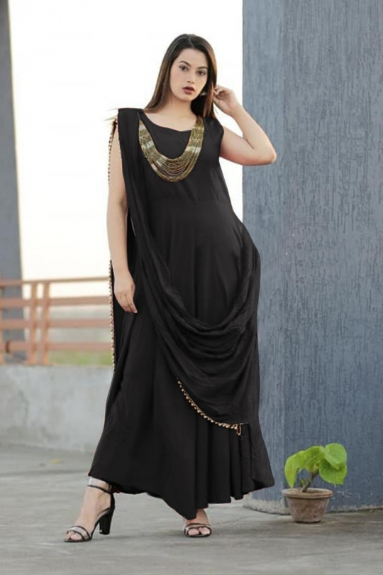 KATRINA PARTY WEAR KURTI WITH JEWELLERY  WHOLESALE RATE AT GOSIYA EXPORTS SURAT  (6)