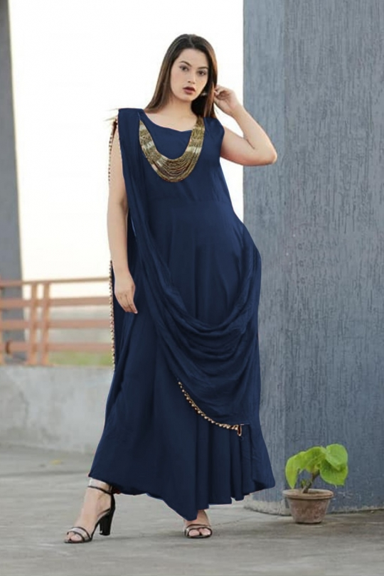 KATRINA PARTY WEAR KURTI WITH JEWELLERY  WHOLESALE RATE AT GOSIYA EXPORTS SURAT  (8)