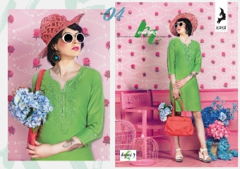 KAYA AQUA VOL 4 CATALOGUE COTTON CAMBRIC SATIN KURTI COLLECTION WHOLESALE SUPPLIER BEST RATE BY GOSIYA EXPORTS SURAT (4)