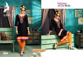 KAYA BY ORANGE VOL 4 FANCY RAYON CASUAL WEAR KURTI COLLECTION WHOLESALE SURAT BEST RATE BY GOSIYA EXPORTS (11)