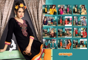 KAYA BY ORANGE VOL 4 FANCY RAYON CASUAL WEAR KURTI COLLECTION WHOLESALE SURAT BEST RATE BY GOSIYA EXPORTS (12)