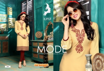 KAYA BY ORANGE VOL 4 FANCY RAYON CASUAL WEAR KURTI COLLECTION WHOLESALE SURAT BEST RATE BY GOSIYA EXPORTS (3)