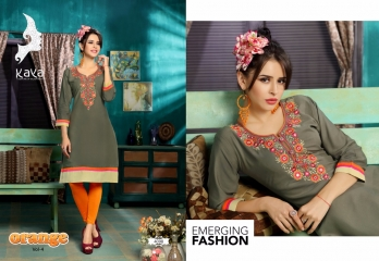 KAYA BY ORANGE VOL 4 FANCY RAYON CASUAL WEAR KURTI COLLECTION WHOLESALE SURAT BEST RATE BY GOSIYA EXPORTS (7)