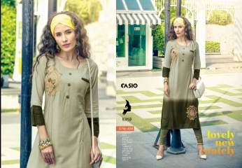 KAYA CASIO CATALOG RAYON EMBROIDERED WORKS PARTY WEAR KURTIS WHOLESALE SUPPLIER BEST RATE BY GOSIYA EXPORTS SURAT (4)