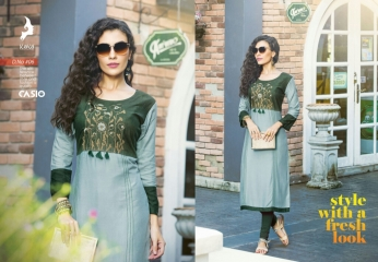 KAYA CASIO CATALOG RAYON EMBROIDERED WORKS PARTY WEAR KURTIS WHOLESALE SUPPLIER BEST RATE BY GOSIYA EXPORTS SURAT (5)