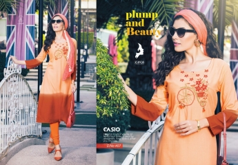 KAYA CASIO CATALOG RAYON EMBROIDERED WORKS PARTY WEAR KURTIS WHOLESALE SUPPLIER BEST RATE BY GOSIYA EXPORTS SURAT (6)