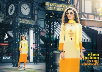 KAYA CASIO CATALOG RAYON EMBROIDERED WORKS PARTY WEAR KURTIS WHOLESALE SUPPLIER BEST RATE BY GOSIYA EXPORTS SURAT (9)