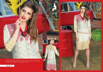 KAYA DIVA VOL 5 RAYON MUDAL PRINT WHOLESALE BEST RATE KURTI KAYA (7)