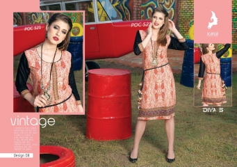 KAYA DIVA VOL 5 RAYON MUDAL PRINT WHOLESALE BEST RATE KURTI KAYA (8)
