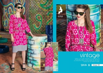 KAYA DIVA VOL 5 RAYON MUDAL PRINT WHOLESALE BEST RATE KURTI KAYA (9)