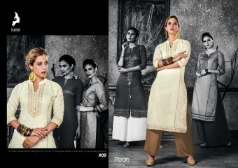 KAYA PEARS COTTON DESIGNER SLEEVE WORK WITH PINTEX KURTI CATALOG WHOLESALE BEST RATE BY GOSIYA EXPORTS SURAT (11)