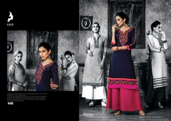 KAYA PEARS COTTON DESIGNER SLEEVE WORK WITH PINTEX KURTI CATALOG WHOLESALE BEST RATE BY GOSIYA EXPORTS SURAT (8)