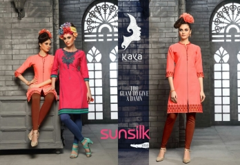 KAYA SUNSILK COTTON CAMBRIC LAWN COLLECTION KURTI WHOLESALE RATE BY GOSIYA EXPORTS ONLINE SURAT (10)