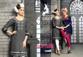 KAYA SUNSILK COTTON CAMBRIC LAWN COLLECTION KURTI WHOLESALE RATE BY GOSIYA EXPORTS ONLINE SURAT (12)
