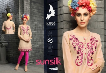 KAYA SUNSILK COTTON CAMBRIC LAWN COLLECTION KURTI WHOLESALE RATE BY GOSIYA EXPORTS ONLINE SURAT (2)