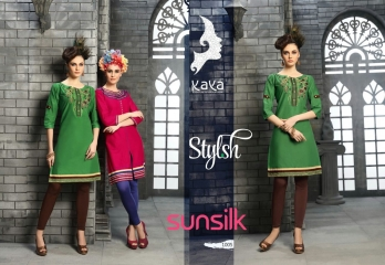 KAYA SUNSILK COTTON CAMBRIC LAWN COLLECTION KURTI WHOLESALE RATE BY GOSIYA EXPORTS ONLINE SURAT (5)