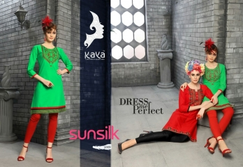 KAYA SUNSILK COTTON CAMBRIC LAWN COLLECTION KURTI WHOLESALE RATE BY GOSIYA EXPORTS ONLINE SURAT (9)