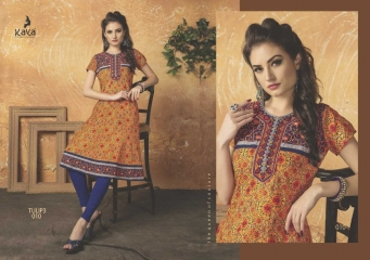KAYA TULIP VOL 3 COTTON DESIGNER KURTI CATALOG WHOLESALE BEST RATE BY GOSIYA EXPORTS FROM SURAT (3)