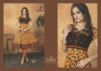 KAYA TULIP VOL 3 COTTON DESIGNER KURTI CATALOG WHOLESALE BEST RATE BY GOSIYA EXPORTS FROM SURAT (4)