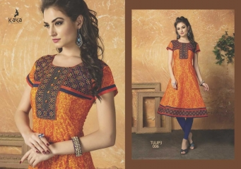 KAYA TULIP VOL 3 COTTON DESIGNER KURTI CATALOG WHOLESALE BEST RATE BY GOSIYA EXPORTS FROM SURAT (7)