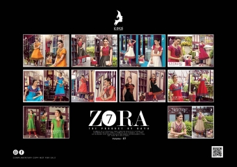 KAYA ZORA 7 CATALOG KORA SILK ANARKALI KURTIS COLLECTION WHOLESALER DEALER BEST RATE BY GOSIYA EXPORTS SURAT (11)