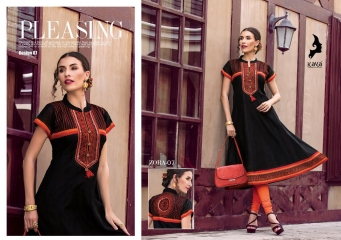 KAYA ZORA 7 CATALOG KORA SILK ANARKALI KURTIS COLLECTION WHOLESALER DEALER BEST RATE BY GOSIYA EXPORTS SURAT (7)