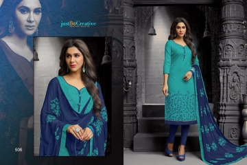 KAYCEE TRENDZ KAMINI VOL 3 COTTON EMBROIDERED SALWAR KAMEEZ WHOLESALE SUPPLIER BEST RATE BY GOSIYA EXPORTS SURAT (9)