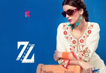 KEROSM ZARINA VOL 6 FANCY REYON KURTI CATLOG FROM WHOLESALE BEST RATE BY GOSIYA EXPORTS (20)