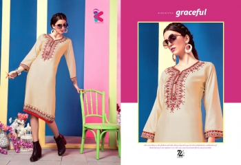 KEROSM ZARINA VOL 6 FANCY REYON KURTI CATLOG FROM WHOLESALE BEST RATE BY GOSIYA EXPORTS (21)