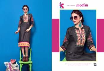 KEROSM ZARINA VOL 6 FANCY REYON KURTI CATLOG FROM WHOLESALE BEST RATE BY GOSIYA EXPORTS (23)