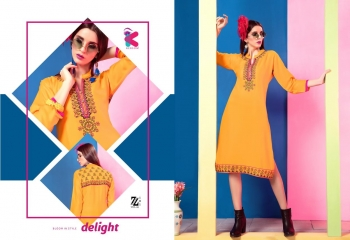 KEROSM ZARINA VOL 6 FANCY REYON KURTI CATLOG FROM WHOLESALE BEST RATE BY GOSIYA EXPORTS (27)