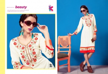 KEROSM ZARINA VOL 6 FANCY REYON KURTI CATLOG FROM WHOLESALE BEST RATE BY GOSIYA EXPORTS (28)