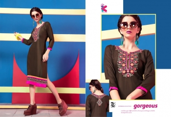 KEROSM ZARINA VOL 6 FANCY REYON KURTI CATLOG FROM WHOLESALE BEST RATE BY GOSIYA EXPORTS (30)