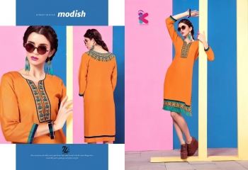 KEROSM ZARINA VOL 6 FANCY REYON KURTI CATLOG FROM WHOLESALE BEST RATE BY GOSIYA EXPORTS (31)