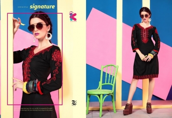 KEROSM ZARINA VOL 6 FANCY REYON KURTI CATLOG FROM WHOLESALE BEST RATE BY GOSIYA EXPORTS (35)