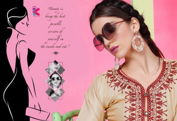 KEROSM ZARINA VOL 6 FANCY REYON KURTI CATLOG FROM WHOLESALE BEST RATE BY GOSIYA EXPORTS (37)