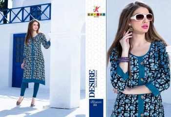 KERSOM BY BLOSSOM VOL 1 CASUAL WEAR RAYON PRINTED KURTI COLLECTION WHOLESALE BEST RAET BY GOSIYA EXPORTS SURAT (15)